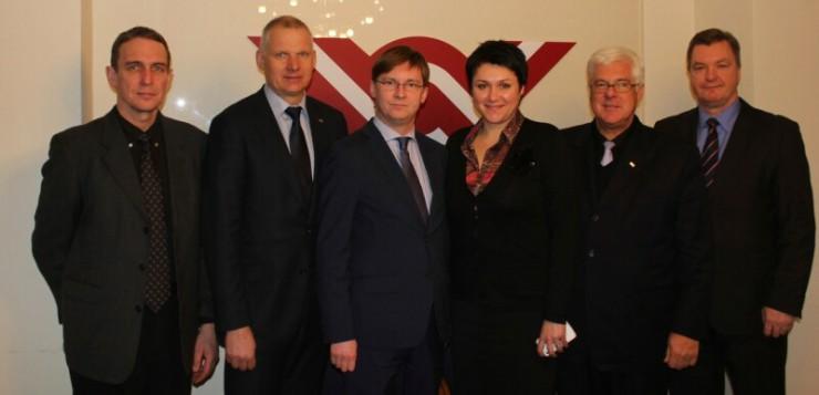 LR Seimo narys Juras Požela lankėsi Rygoje