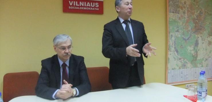 Vilniaus socialdemokratų verslo klube - Europos Parlamento narysZigmantas Balčytis