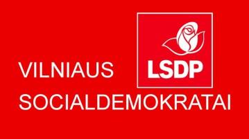 LSDP Vilniaus miesto skyriaus taryba: miestui reikia socialdemokratų